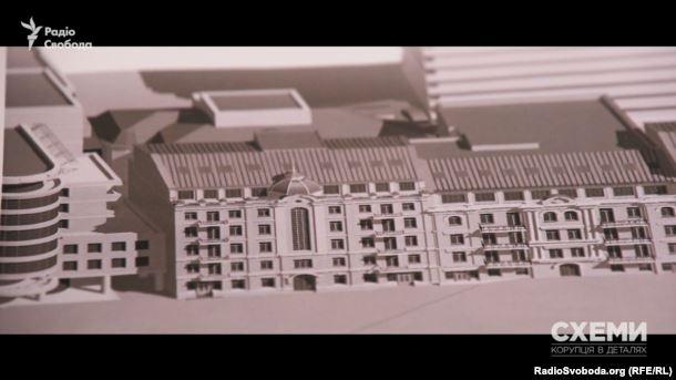 План майбутніх будинків на вулиці Тургенівській