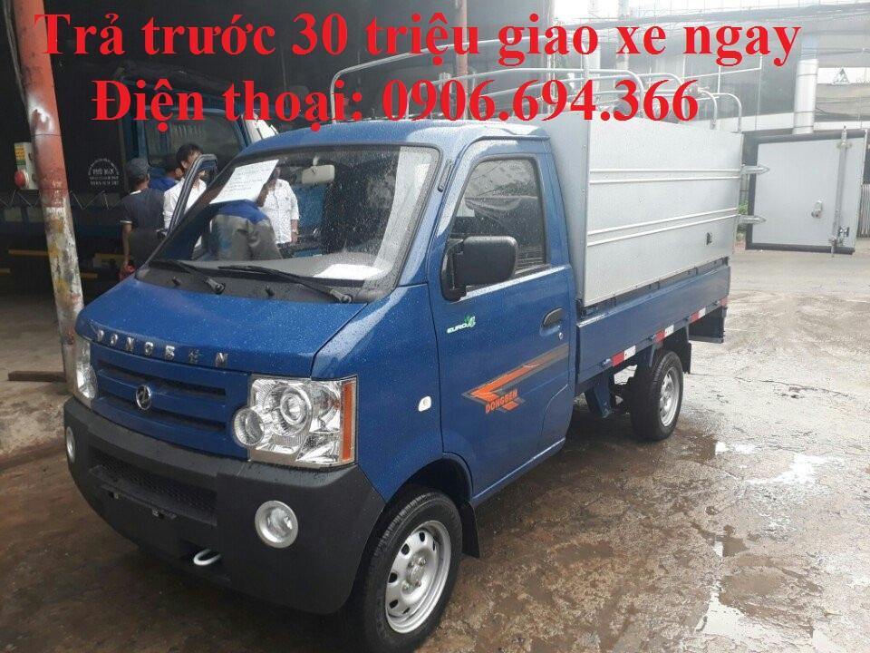 Bán xe tải 800kg máy SYM trả góp lãi suất thấp giao xe toàn quốc