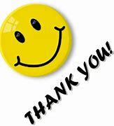 Image result for clip art of thank you