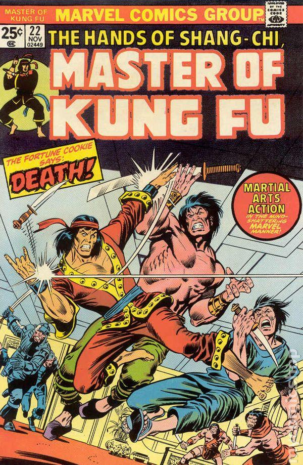 Master of Kung Fu (1974 Marvel) comic books