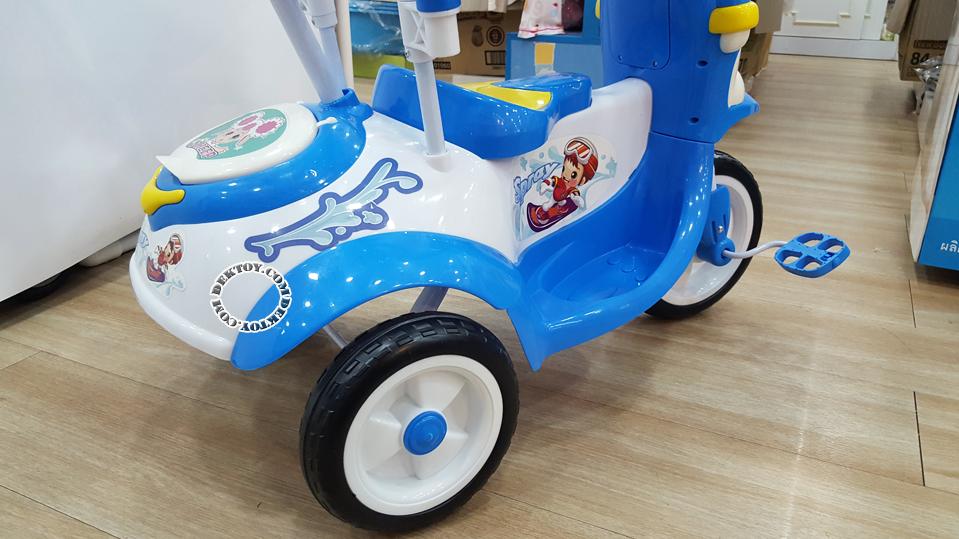 รถสามล้อเด็กหน้าแมวก้นใหญ่ สีฟ้า BCQB0002ML-6.png