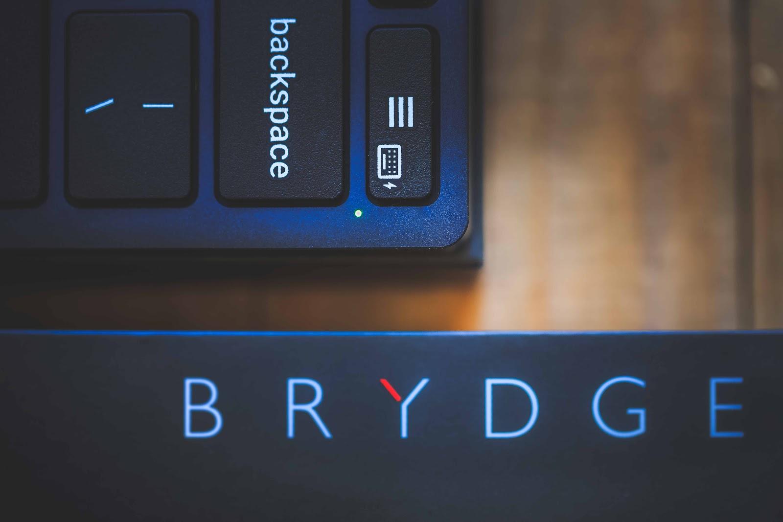 Led de mise en route du clavier Brydge