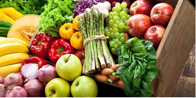 Ăn nhiều rau củ quả