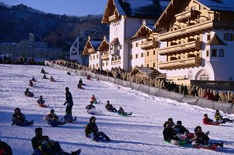 Ski Resorrt - South Korea Tour