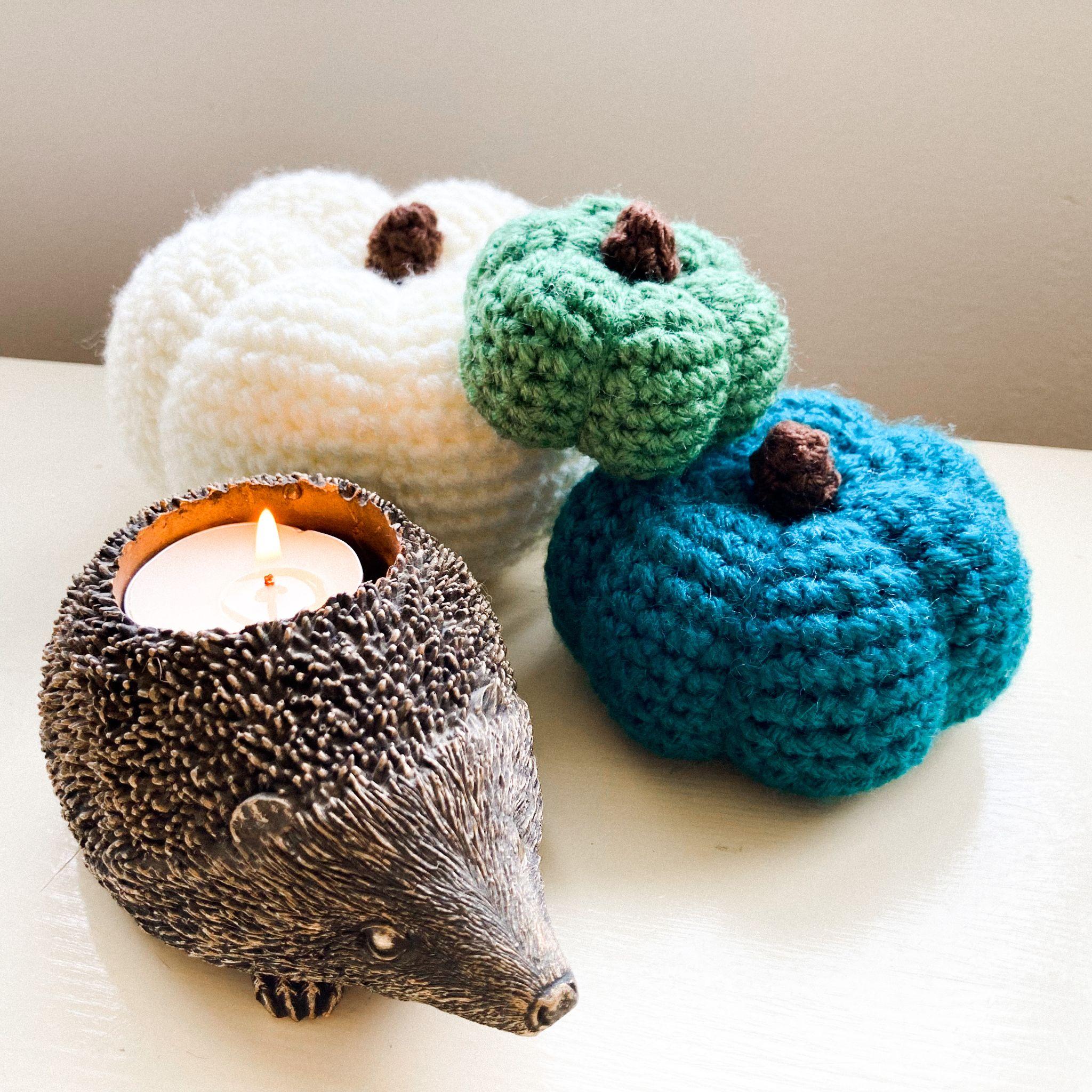 Crochet Halloween Pumpkins