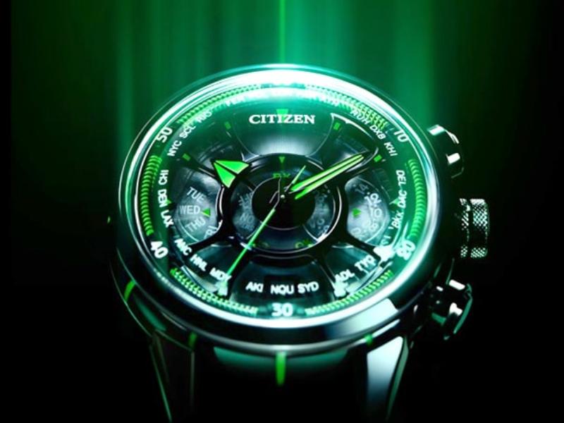 Đồng hồ Citizen Eco-drive nữ hoạt động dựa vào năng lượng được chuyển hóa từ ánh sáng