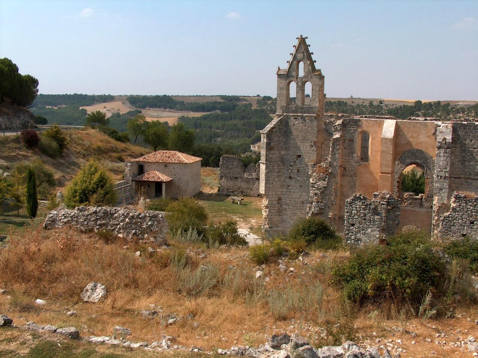 monasterio derruido de Cogeces del Monte