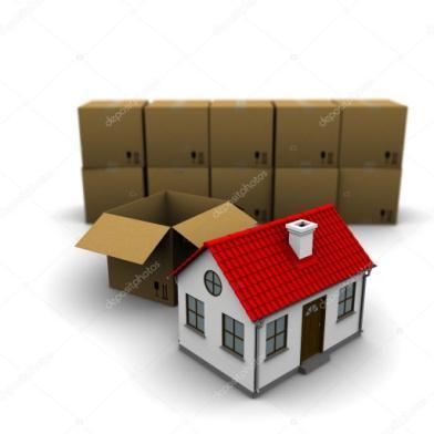 House from a cardboard box — Stock Photo © cherezoff #5227023