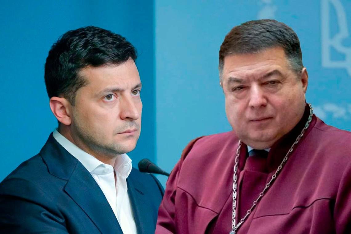 Володимир Зеленський та Олександр Тупицький (фото: slovoidilo.ua)