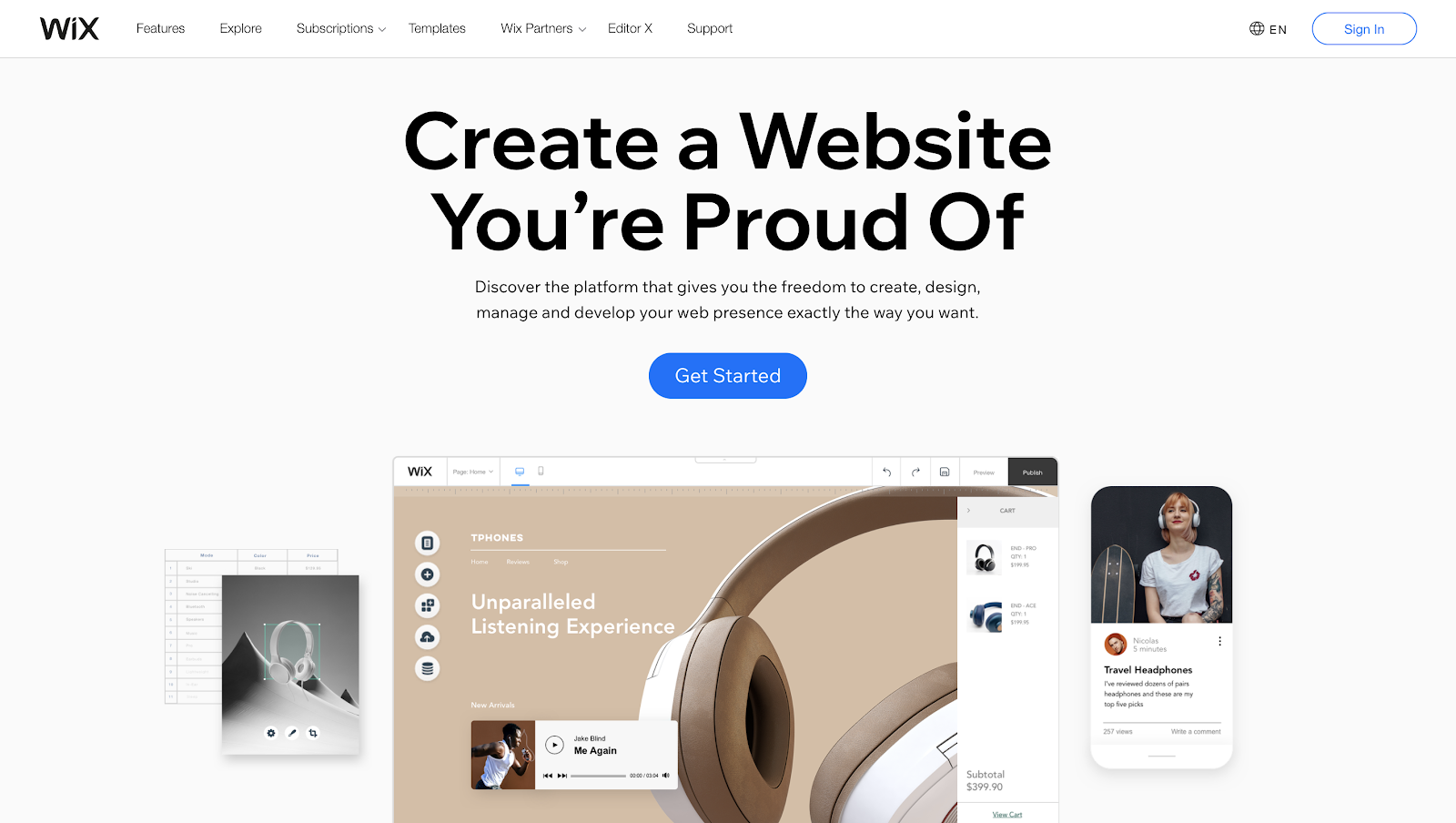 How to Create a Personal Website with Wix