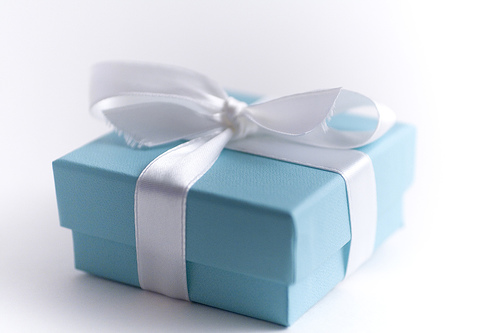 Tiffany's little blue box