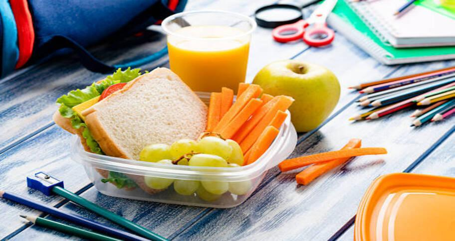 prepare their lunch for the first day of school