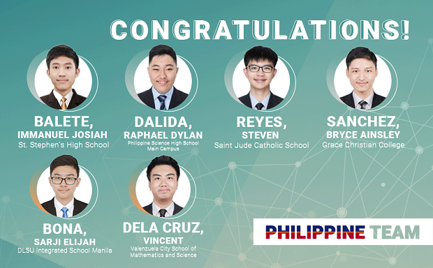 Team Philippines wins 6 medals at International Math Olympiad