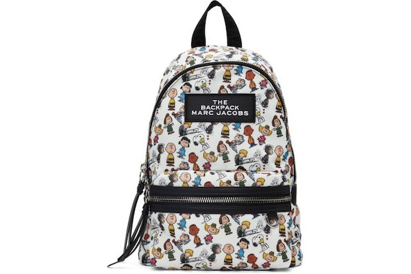 Marc Jacobs Multicolor Peanuts Edition The Medium Backpack from SSENSE