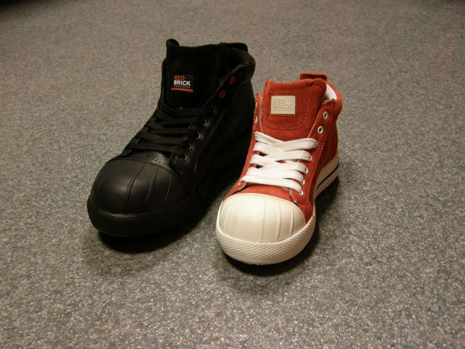Werkschoenen safety sneakers Redbrick