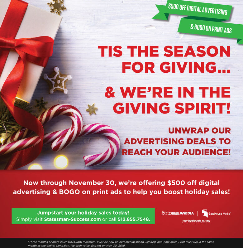2020 Holiday Marketing Strategy - Incentives