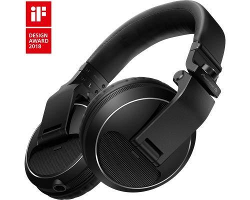 Pioneer Pro DJ Black (casque DJ professionnel HDJ-X5-K)