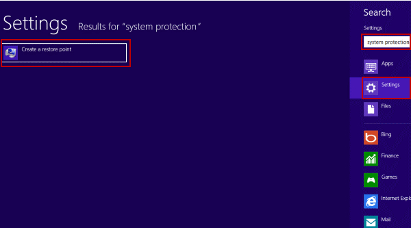 System restore in windows 8/8.1 - Step 5