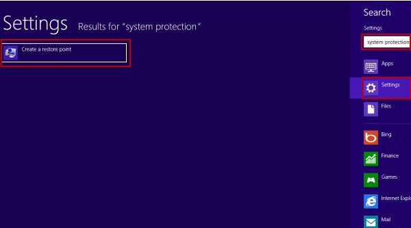 System restore in windows 8/8.1 - Step 5