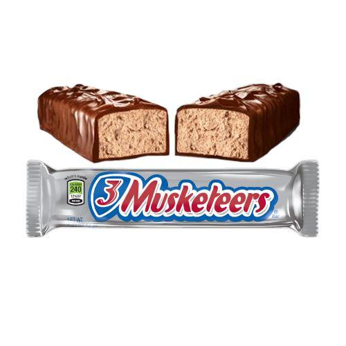 Image result for three musketeers candy