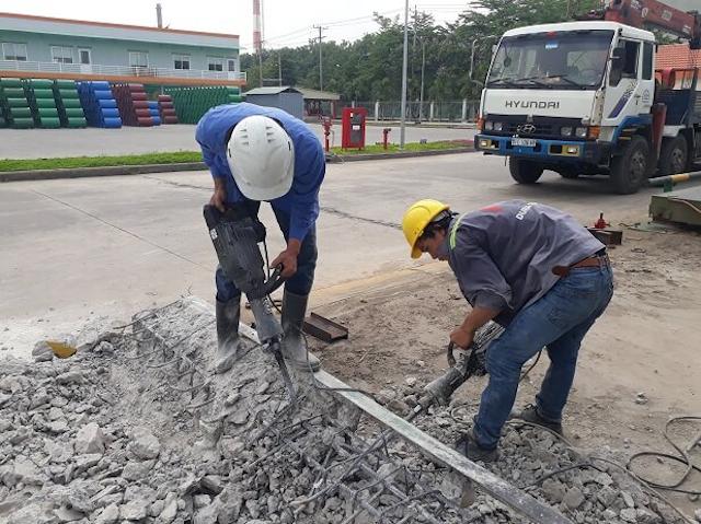Khoancatbettongtphcm.vn đầu tư hệ thống máy móc khoan cắt bê tông hiện đại