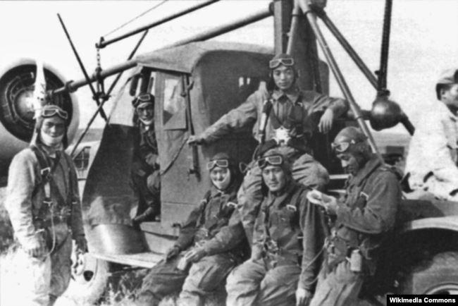 Японские пилоты, Халхин-Гол, 1939 год