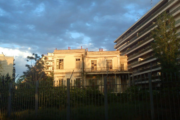 Back Side of the Mystery Manor, Thessaloniki, Greece