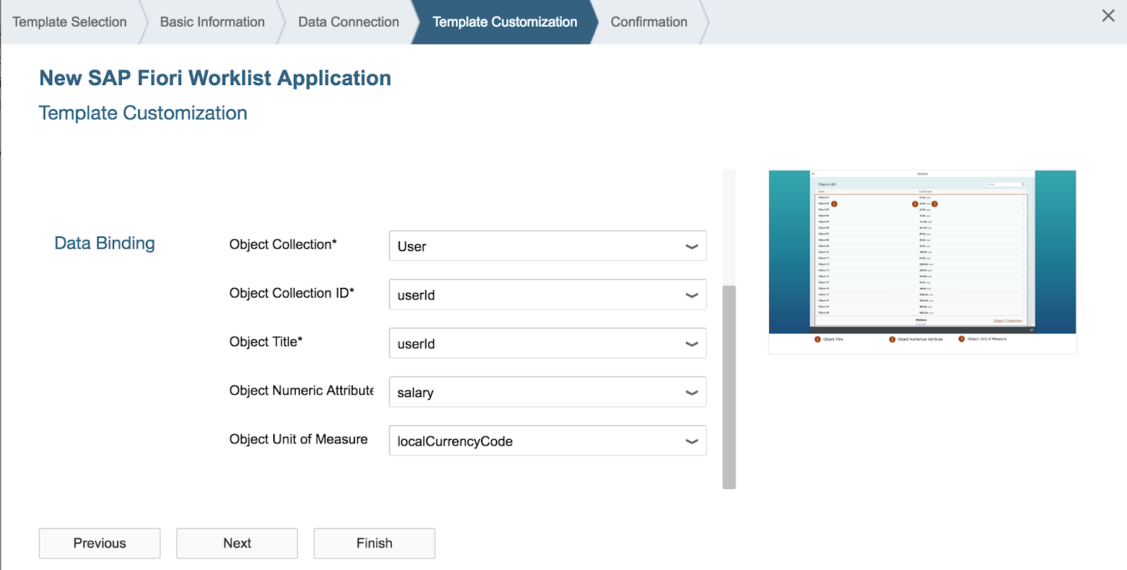 Use sap web ide templates for rapid fiori app development sap blogs when i run the generated application without any modification i get the following error malvernweather Choice Image