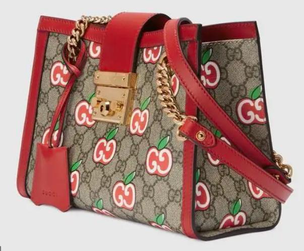 Gucci's successful Qixi Festival campaign apple locket bag