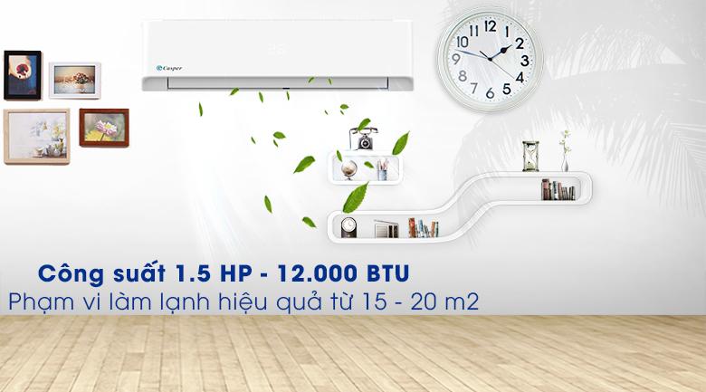 Máy lạnh Casper 1.5 HP LC-12FS32  - Thiết kế