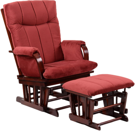 Artiva USA Home Deluxe Glider for tall dads and moms