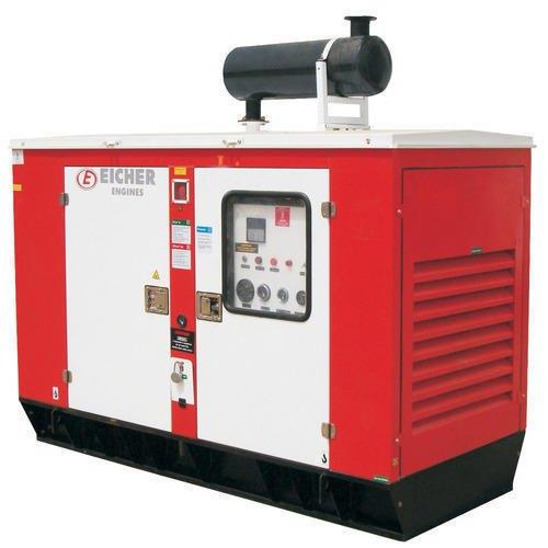 Mild Steel 10 KVA Eicher Silent Diesel Generators