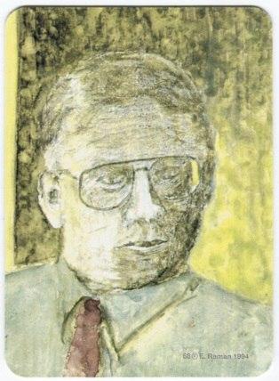 Карта из колоды метафорических карт Персона: мужчина в очках