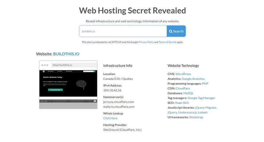 WSHR tool report example