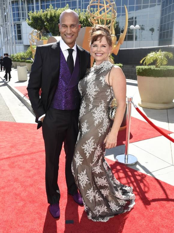 Keegan-Michael Key And Cynthia Blaise