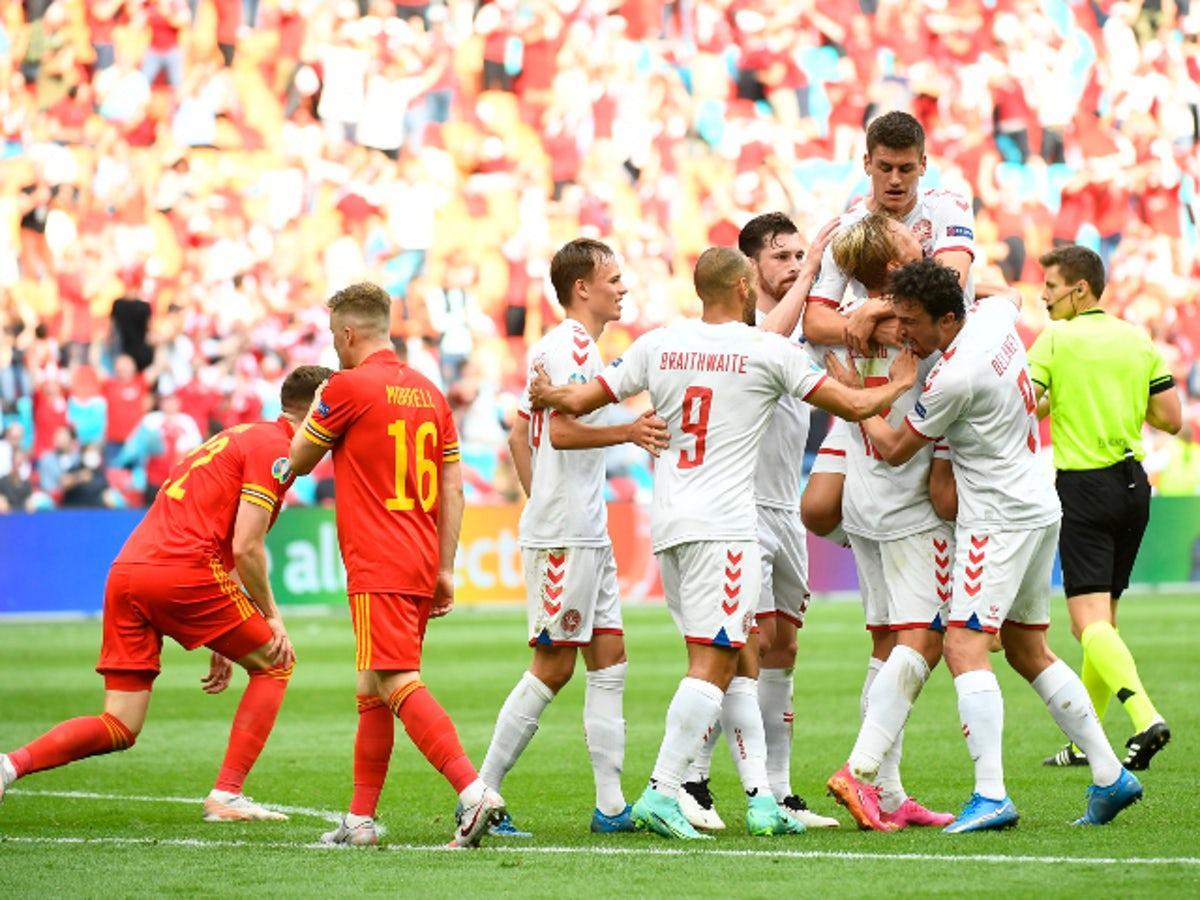 Đan Mạch đang thể hiện sự cống hiến và tinh thần không còn gì để mất trong các trận đấu