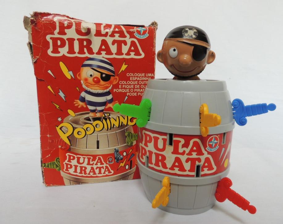 Primeiro pula pirata fabricado pela Estrela