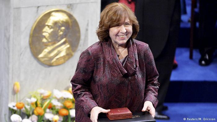 Schweden Literatur Nobelpreis Swetlana Alexijewitsch