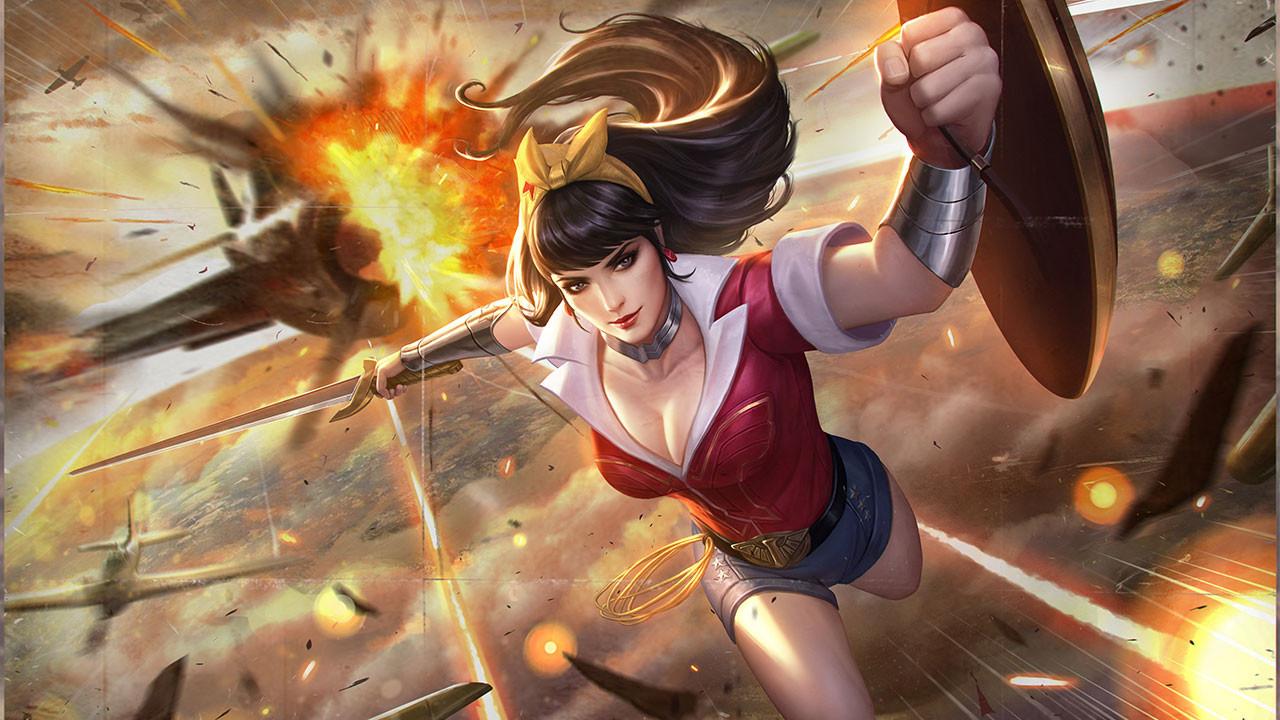Hướng dẫn chơi Liên Quân Mobile Wonder Woman giai đoạn đầu trận