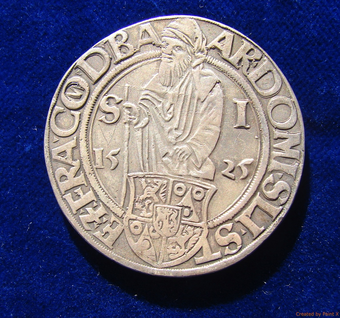 A Thaler coin, circa 16th century (Wikipedia)