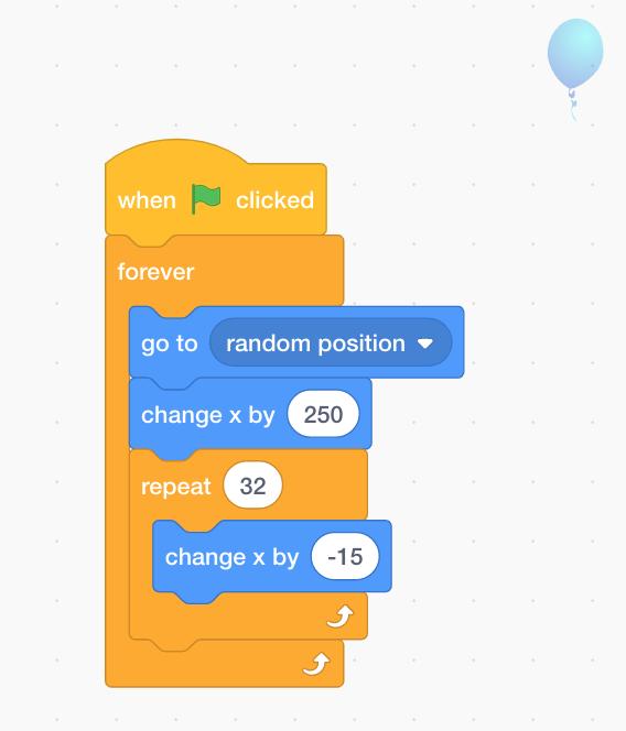 Code for Scratch tutorial