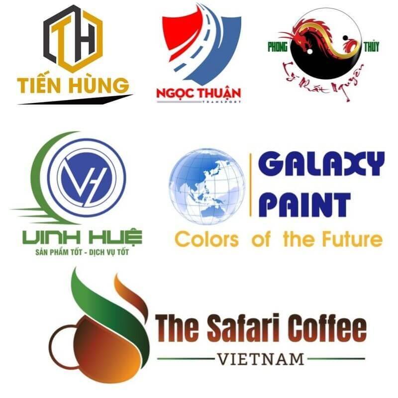 Các sản phẩm logo đã thiết kế tại Rubic