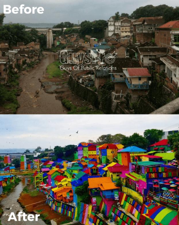 Inilah Sosok Mahasiswa Kreatif Penggagas Kampung Warna-Warni Jodipan di  Kota Malang - Ublik.id