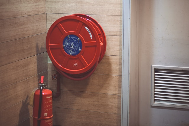 Knowing where the fire extinguishers are is crucial for health and safety.