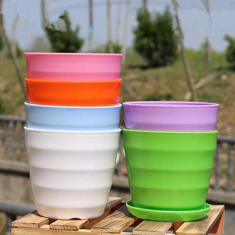 Plastic Decorative Flower Pots