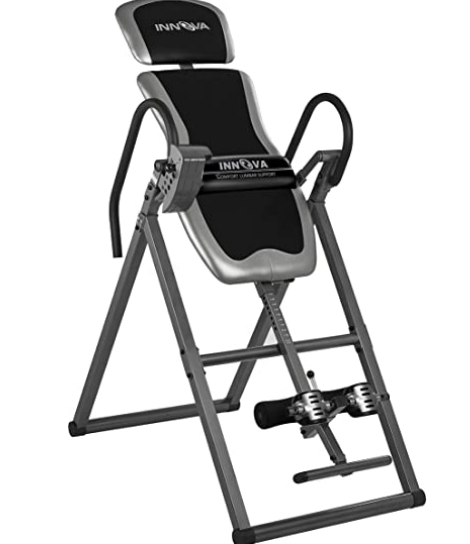 best inversion tables   Innova Inversion Table with Adjustable Headrest, Reversible Ankle Holders, and 300 lbs Weight Capacity