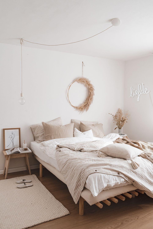 Trang trí phòng ngủ với cỏ khô