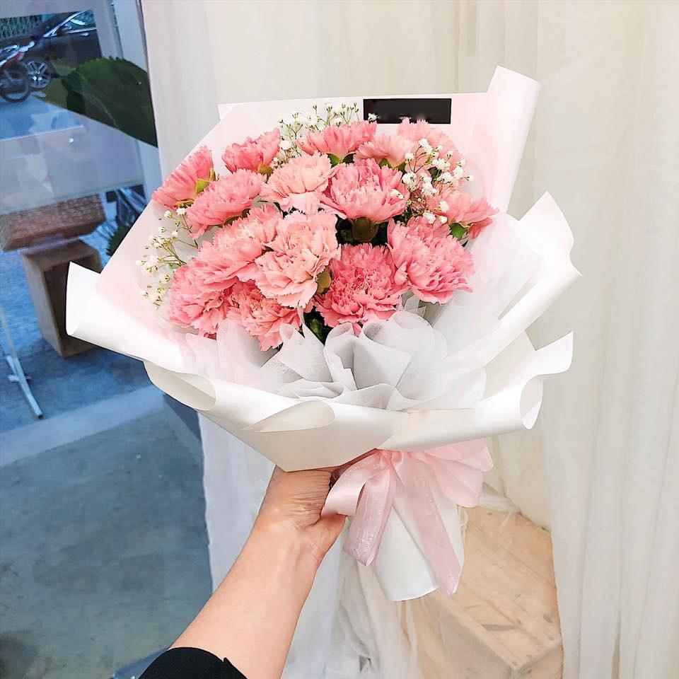 hoa cẩm chướng tặng lễ tốt nghiệp