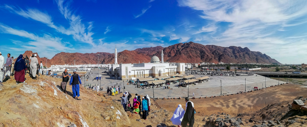Battle of Uhud site, Madinah, Saudi Arabia
