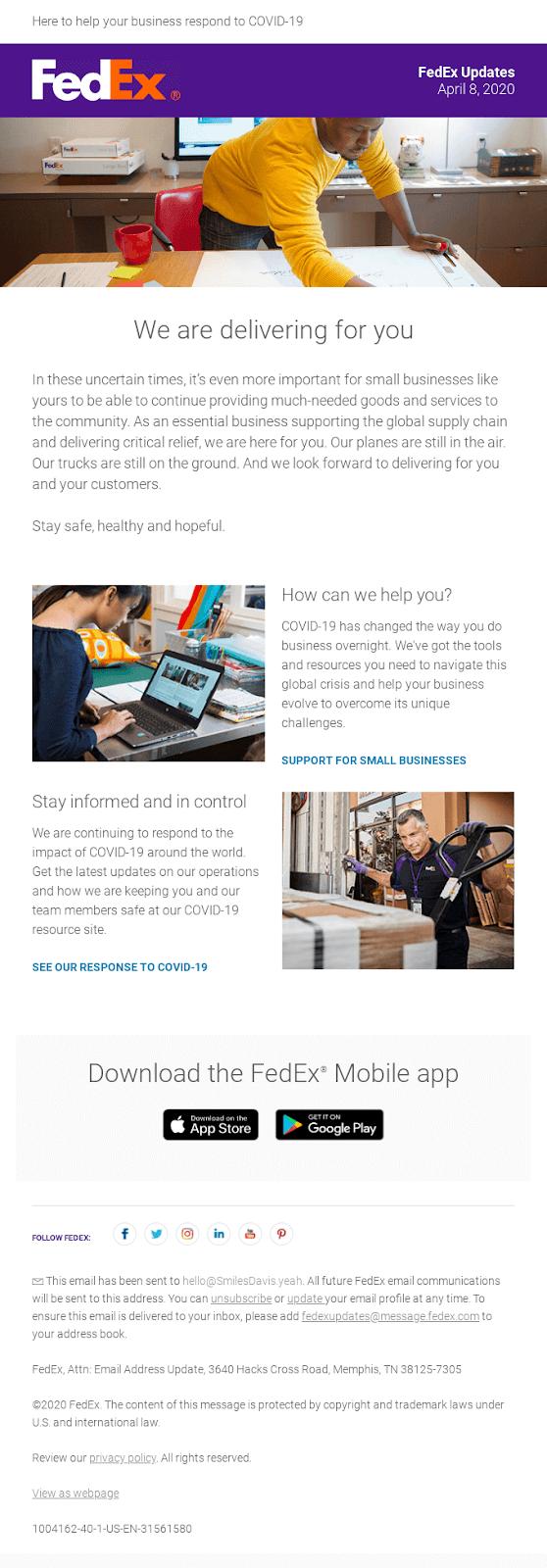 empathetic email